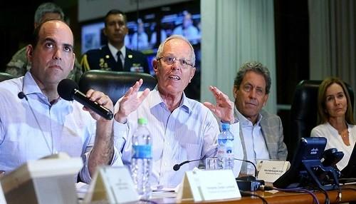 Jefe de Estado reconoce trabajo de FF.AA y PNP y asegura que situación de emergencia se está controlando