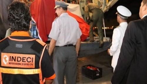 Gobierno de Chile moviliza 18 toneladas de ayuda humanitaria hacia el Perú