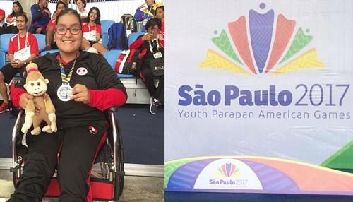 Perú gana su primera medalla en Parapanamericanos Juveniles de Sao Paulo