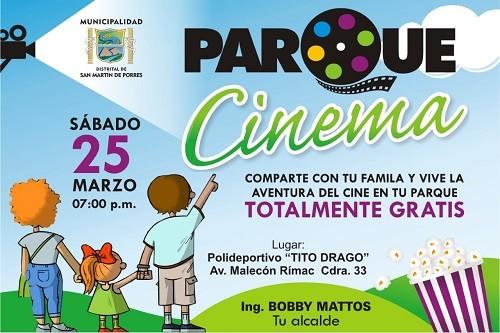 """SMP lleva alegría y esperanza a damnificados con """"Parque Cinema Gratis"""""""
