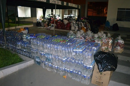 Municipalidad de Ventanilla lleva donaciones de vecinos a damnificados de Carapongo