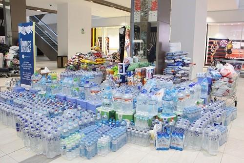 Jockey Plaza entregó 117 toneladas de donaciones