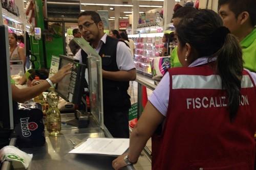Se realizaron inspecciones sorpresivas en mercados y supermercados de Chorrillos