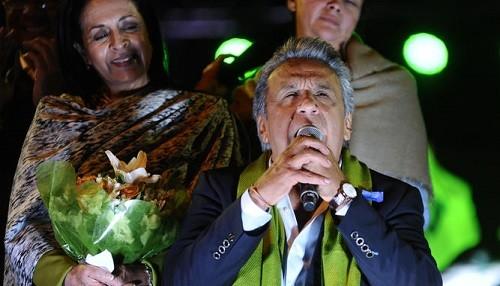 Ecuador: Moreno encabeza la victoria en medio de reclamaciones de fraude de la oposición