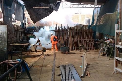 Minsa fumiga el distrito de Pueblo Nuevo en Chincha para controlar brote de zika
