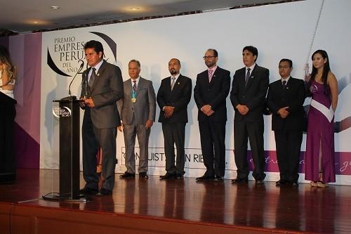 Cooperativa de caficultores del BP Alto Mayo es reconocida como Empresa Peruana del Año 2016