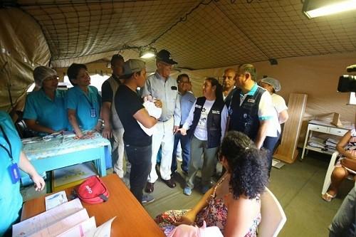 Ministra García: 'Queremos acabar con los brotes de dengue en el país'