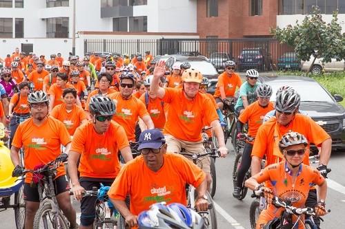 VI Bicicleteada 'Sostenible soy, en bicicleta voy' 2017