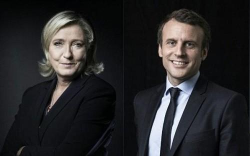 Francia: Emmanuel Macron y Marine Le Pen a segunda vuelta