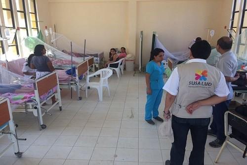 Minsa fortalece el uso de pruebas del dengue en regiones del país