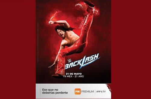 FOX Premium App & TV presenta en vivo la nueva edición de 'Backlash' de la WWE