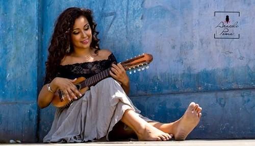Araceli Poma  vuelve luego de su gira por EE.UU.