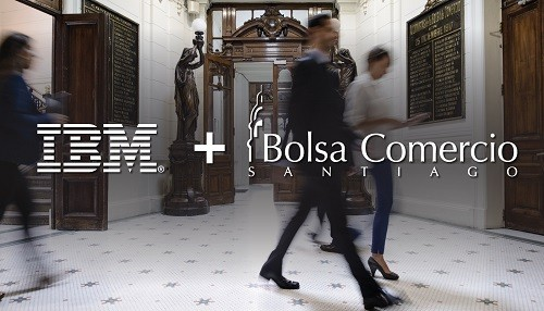 IBM y Bolsa de Santiago entregarán la primera solución de Blockchain para préstamos de valores del mundo