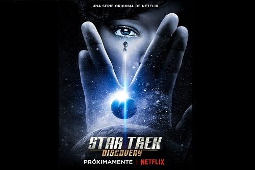 Netflix revela el primer tráiler y el arte principal de Star trek: Discovery