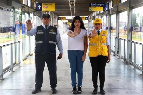 Protransporte impulsa campaña 'Si eres víctima, denuncia'
