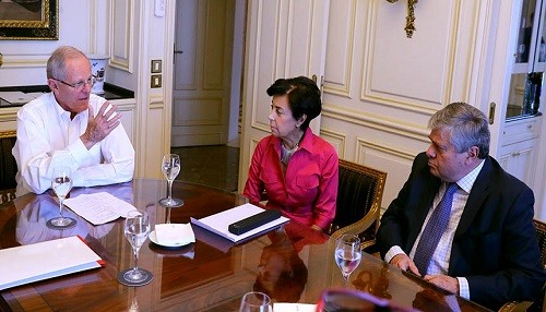 Presidente Kuczynski sostuvo reunión con padres de líder opositor venezolano Leopoldo López