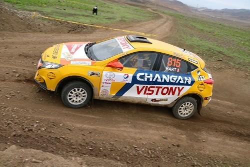 Hart inicia nacional de Rally con una victoria junto a Changan