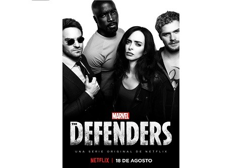 Netflix revela el arte principal de la próxima serie original Marvel's The Defenders