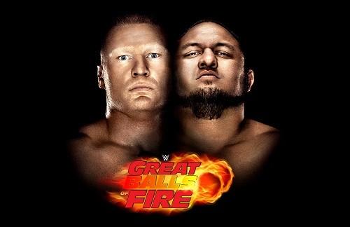 FOX Premium App & TV emite en vivo la primera edición de 'Great Balls of Fire' de la WWE