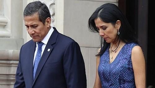 Fiscales buscan prisión para Ollanta Humala y su esposa en caso de corrupción