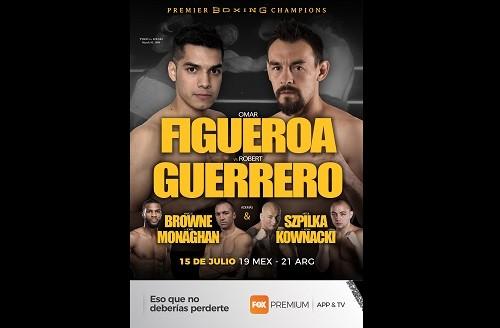 FOX Premium App & TV presenta en vivo la pelea de Omar Figueroa Jr. Vs. Robert Guerrero