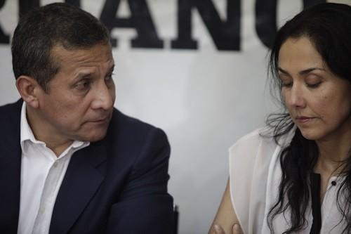 Ollanta Humala y Nadine Heredia se enfrentan a 18 meses de prisión preventiva