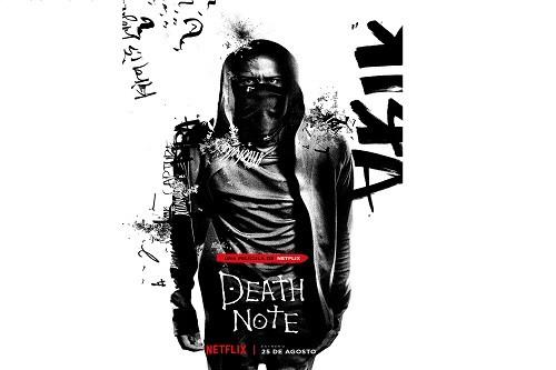 Netflix revela el póster del personaje de 'L' en Death Note