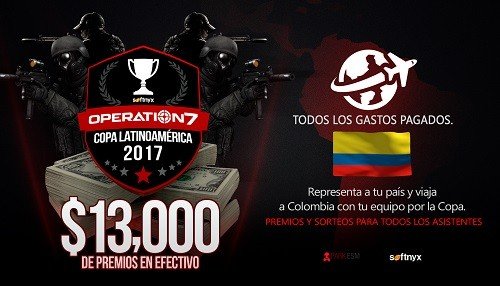 Softnyx anuncia la primera Copa Latinoamericana Operation7
