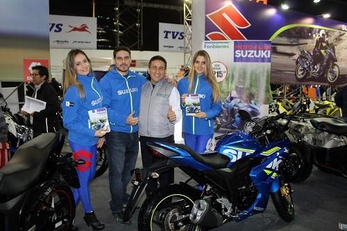 DercoMotos presentó Moto Plan Suzuki