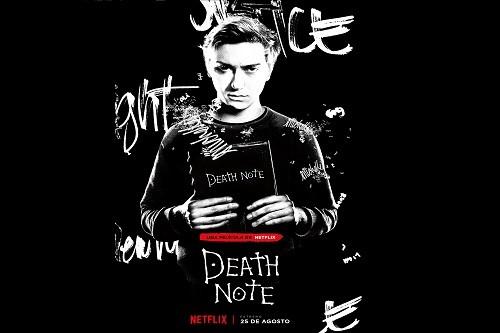 Netflix revela el póster del personaje de 'Light' en Death Note