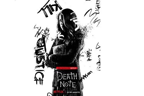Netflix revela el póster del personaje de 'Mia' en Death Note