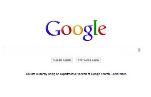 Google cambiará radicalmente su página inicial