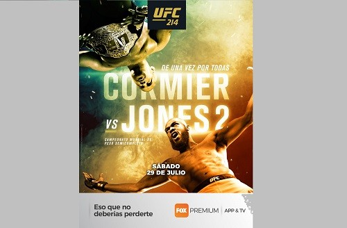 FOX Premium App & TV presenta la esperada revancha 'Cormier vs Jones II'