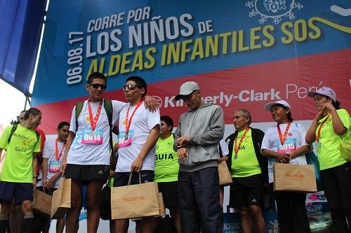 Maratón recaudó más de 80 mil soles para ayudar a 600 niños de Aldeas Infantiles SOS