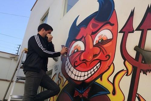 Artista urbano 'Terko' presenta su segunda muestra individual