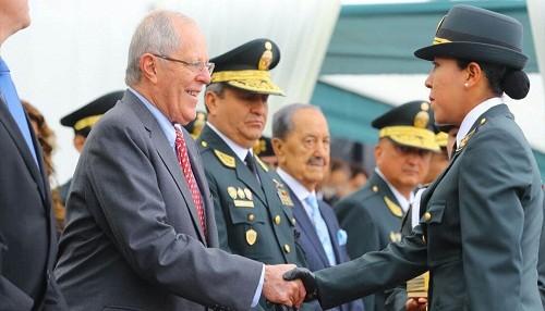 Jefe de Estado: Incorporación de 6,392 nuevos policías es un 'hito' a favor de la seguridad ciudadana
