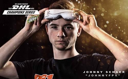 DHL patrocinador del próximo DR1 Drone Racing Series.