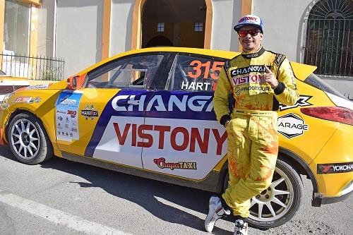 Changan Rally Team y Mario Hart ante un nuevo reto