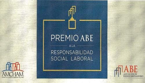 ABE premia buenas prácticas laborales de las empresas