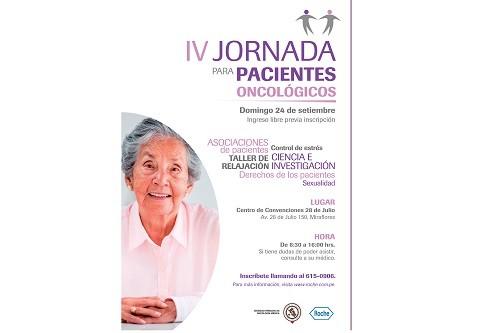 Jornada de Educación gratuita para pacientes oncológicos