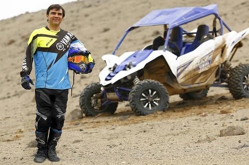 Kike Umbert continúa su camino al Dakar 2018