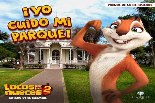 'Locos por las nueces 2', cinta animada que llega a nuestro país de la mano de una iniciativa muy especial