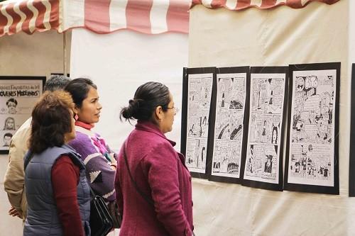 Este sábado 16 de setiembre se realizará una exposición de historietas en el Parque de la Muralla