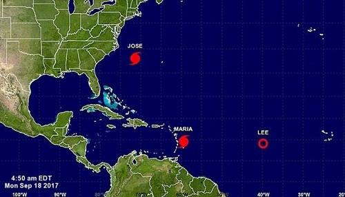 El huracán María se convertirá en una tormenta importante cerca de las islas del Caribe