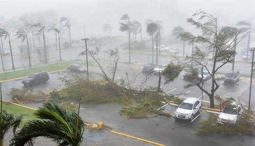 El Huracán María deja Puerto Rico sin electricidad