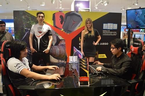 Lenovo llevó la experiencia gamer a otro nivel