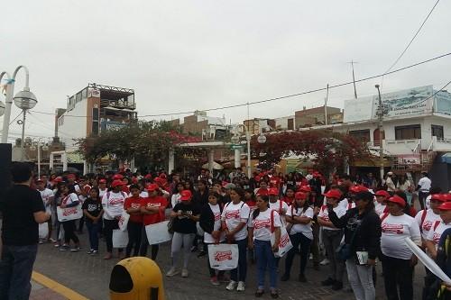 Cientos de voluntarios participaron en jornada de limpieza en el Chaco de Paracas