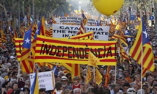 El referéndum de Cataluña desafía la obstrucción española