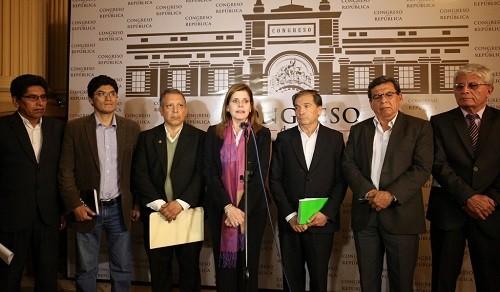 Mercedes Aráoz: Tenemos una política de apertura para escuchar a todas las fuerzas políticas del país