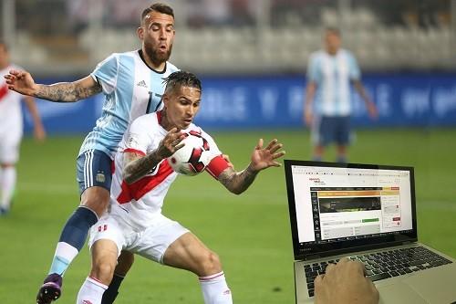 9 de cada 10 apuestas confían en triunfo de Perú ante Argentina